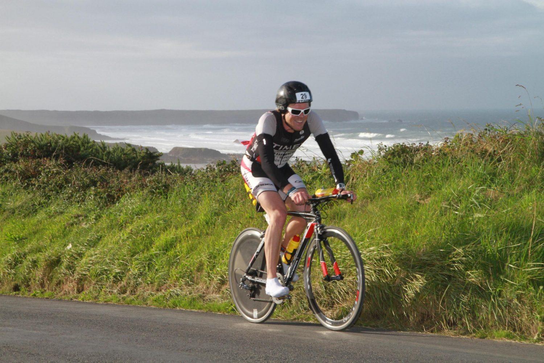Jerzy Kasemier Ironman Wales Cycling Espresso